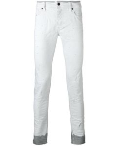 Diesel | Dyed Hem Slim-Fit Jeans 31 Cotton/Polyester
