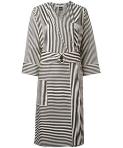 Hope | Striped Wrap Dress 36