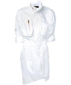 Alexandre Vauthier | Платье-Рубашка На Молнии