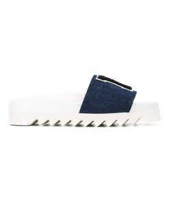 Joshua Sanders | La Denim Flip Flops Size 40