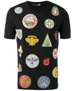 Love Moschino | Multi-Print T-Shirt Xl