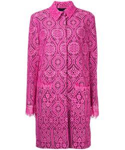 MSGM | Кружевное Пальто Миди