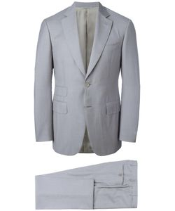 Canali | Two Piece Suit 54 Wool/Cupro