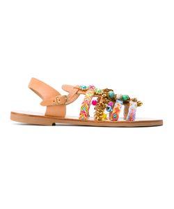 ELINA LINARDAKI | Astarte Embellished Sandals