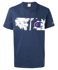 Champion | Palm Tree Panel T-Shirt Size Small