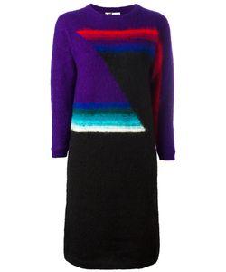 KANSAI YAMAMOTO VINTAGE | Geometric Wool Dress Size Medium