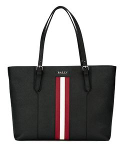 Bally | Stripe Detail Tote Leather