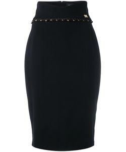 Cavalli Class   Contrast Pencil Skirt
