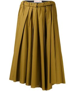 Marni | Gathered Midi Skirt 40