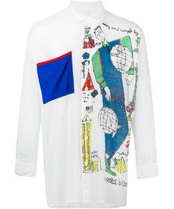 JC DE CASTELBAJAC VINTAGE | Oversized Printed Shirt Adult Unisex Medium