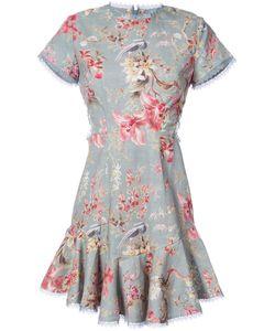 Zimmermann | Платье С Цветочным Узором И Рюшами
