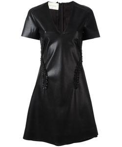 Cedric Charlier | Cédric Charlier V-Neck Dress 42 Polyester