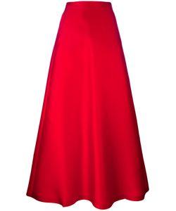Max Mara | Mid-Rise A-Line Skirt 44 Polyester/Silk