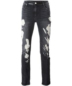 RTA | Faded Destroy Skinny Jeans 31 Cotton/Polyester/Spandex/Elastane