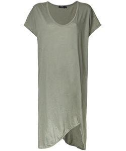 Bassike   Boxy T-Shirt Dress 8 Cotton