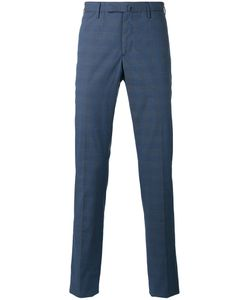 Incotex | Light Check Trousers 46