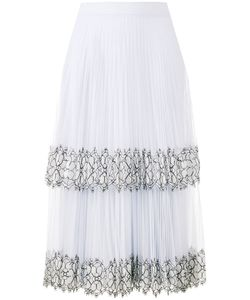 Christopher Kane | Lace Detail Pleated Skirt