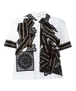 Antonio Marras | Patchwork Shirt 42 Cotton/Polyamide/Spandex/Elastane