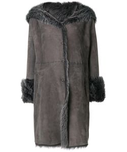 Liska | Long Fur Coat Women Lamb Fur/Lamb Nubuck