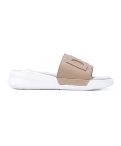 DKNY   Logo Slider Sandals 7.5