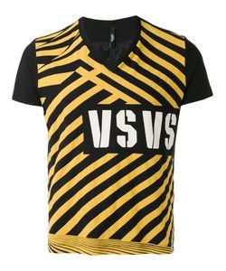 Versus | Printed V-Neck T-Shirt L