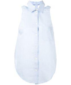 Nanushka   Striped Sleeveless Shirt M