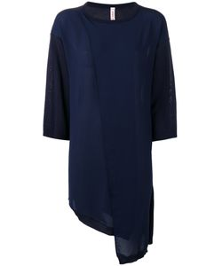 Antonio Marras | Long-Sleeved Shift Dress Large Cotton/Viscose/Polyester
