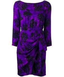 Saint Laurent | Yves Vintage Draped Print Dress 34