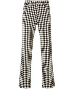 WALES BONNER | Checked Regular Trousers Men