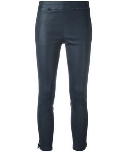 Arma | Cropped Leather Trousers 34 Cotton/Spandex/Elastane/Lamb Skin
