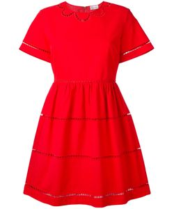 Red Valentino | Cut-Out Trim Dress Size 40