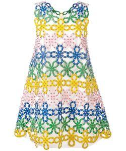 Sara Battaglia | Macrame Lace Dress