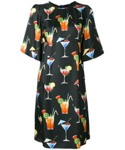 Dolce & Gabbana | Cocktail Print Shift Dress