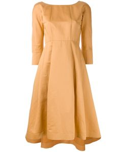 Jil Sander Navy | Flared Dress Size 38