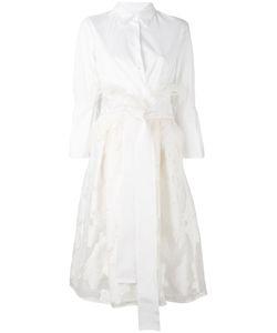 SARA ROKA | Lace Shirt Dress