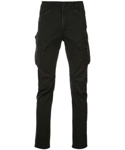 Hudson | Side Pockets Tape Trousers 28 Cotton/Spandex/Elastane