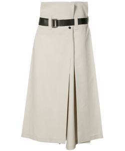 132 5. ISSEY MIYAKE | High-Rise Cropped Trousers