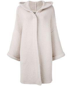 N.PEAL | Ribbed Detail Cardi-Coat One