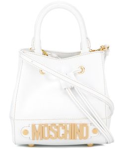 Moschino | Mini Branded Bag Leather/Metal Other