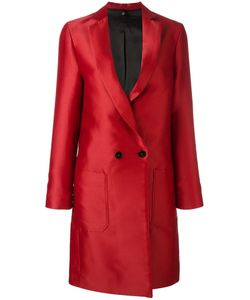 Christian Pellizzari | Double Breasted Coat 44 Polyester/Viscose