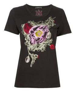 Alexander McQueen | Embroide T-Shirt 42 Cotton