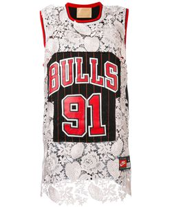 Night Market | Chicago Bulls Embroidered Nba Tank