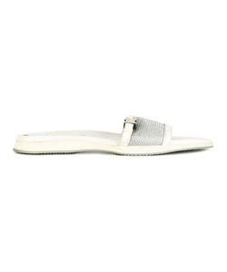 PRADA VINTAGE | Mesh Slide Sandals 38