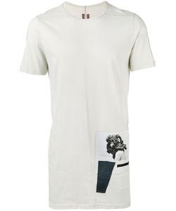 RICK OWENS DRKSHDW | Woven Level T-Shirt Size Large