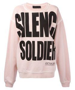 Haider Ackermann | Silence Soldier Oversized Sweatshirt