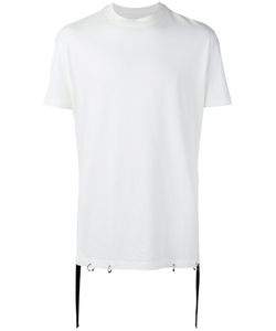 D. Gnak | D.Gnak Tape Detail T-Shirt 46 Cotton