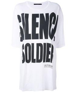 Haider Ackermann   Свободная Футболка Silence Is
