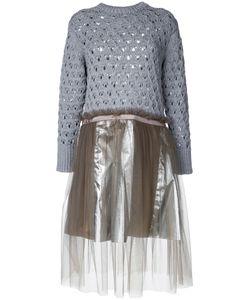 Kolor | Knitted Fla Dress 2 Nylon