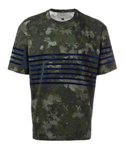 CASELY-HAYFORD | Camouflage Print T-Shirt Medium Cotton