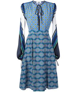 MSGM | Multi-Print Flared Dress 42